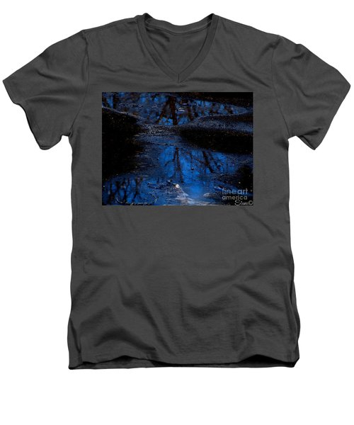 Natures Looking Glass Men's V-Neck T-Shirt