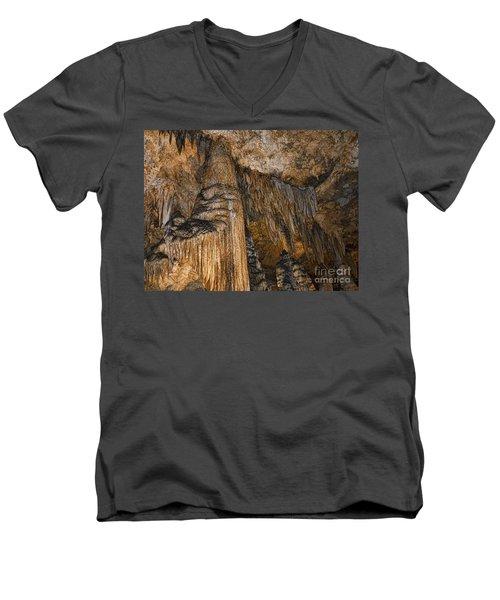 Natures Organ Pipes Men's V-Neck T-Shirt