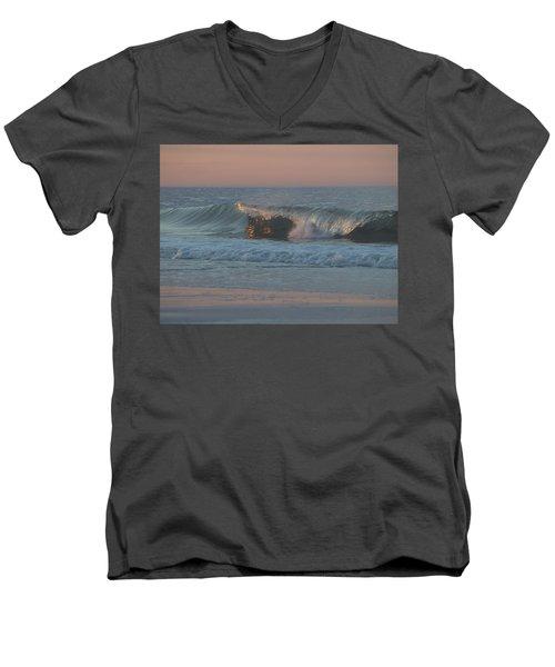 Natures Wave Men's V-Neck T-Shirt