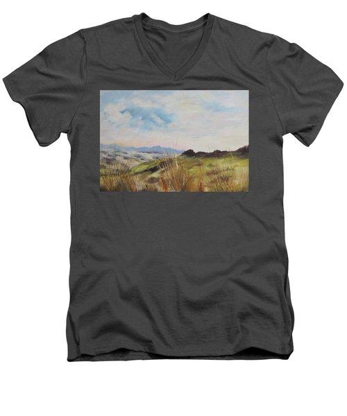Nausori Highlands Of Fiji Men's V-Neck T-Shirt