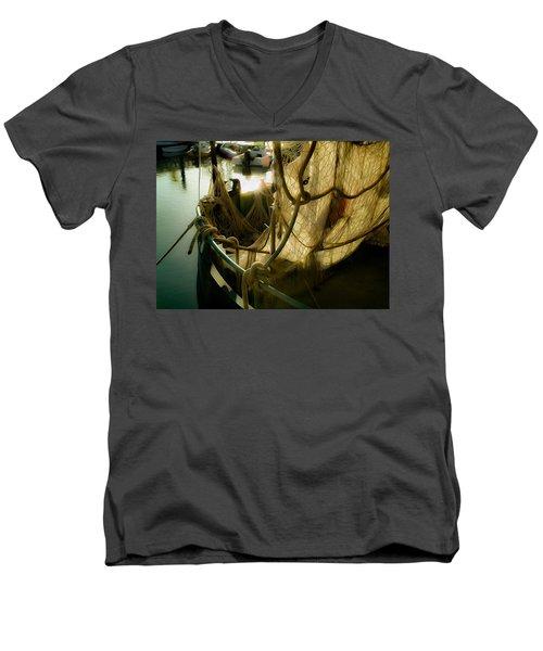 Nautical Dreams Men's V-Neck T-Shirt