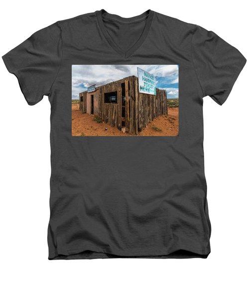Navajo Jewelry Men's V-Neck T-Shirt
