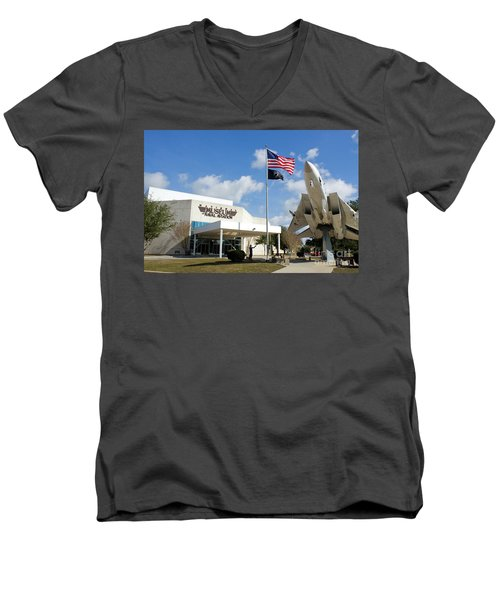 Naval Aviation Museum Men's V-Neck T-Shirt