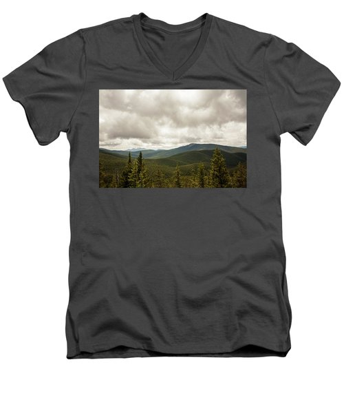 Near Monarch Pass At The Continental Divide Men's V-Neck T-Shirt