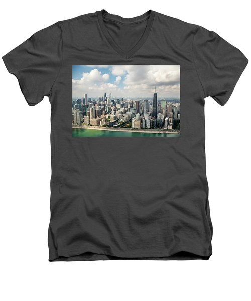 Near North Side And Gold Coast Men's V-Neck T-Shirt