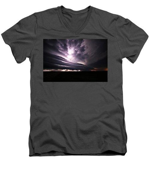 Nebraska Beast Men's V-Neck T-Shirt