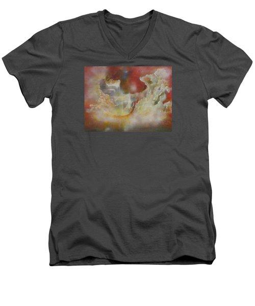 Nebulous Men's V-Neck T-Shirt
