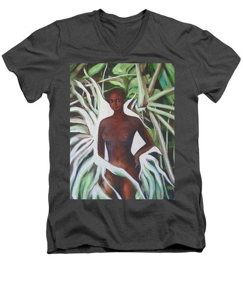 Negrita Men's V-Neck T-Shirt
