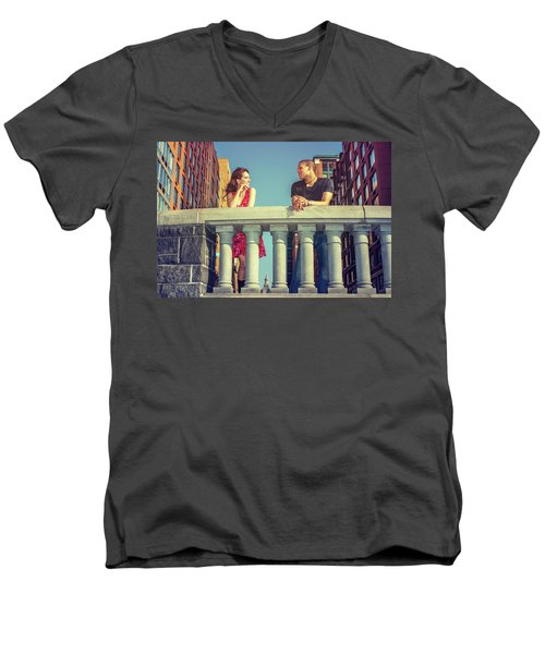 Neighbors Men's V-Neck T-Shirt