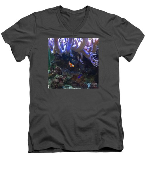 Nemo Look Alike Men's V-Neck T-Shirt by Patricia E Sundik