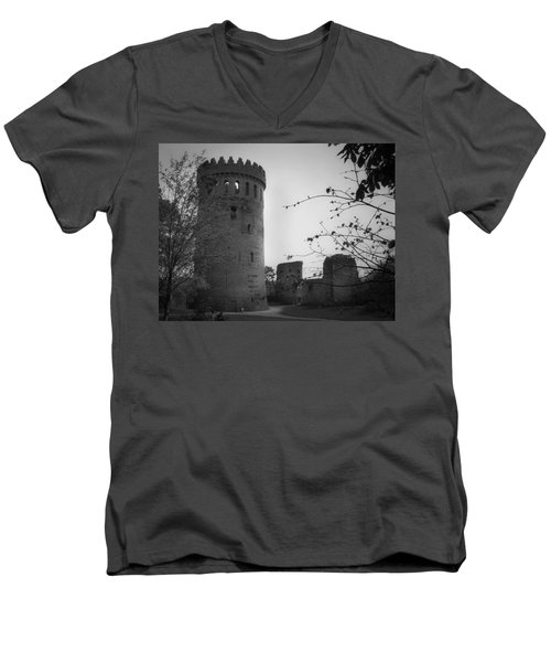 Nenagh Castle County Tipperary Ireland Men's V-Neck T-Shirt