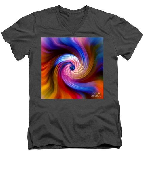 Neon Escape Men's V-Neck T-Shirt
