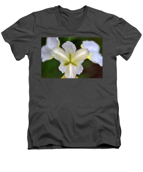 Neon Petals Men's V-Neck T-Shirt
