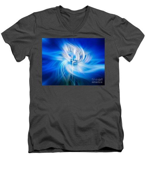 Neon Wisp Men's V-Neck T-Shirt