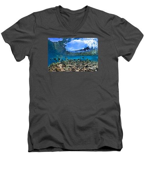 Neptunes Eye Men's V-Neck T-Shirt