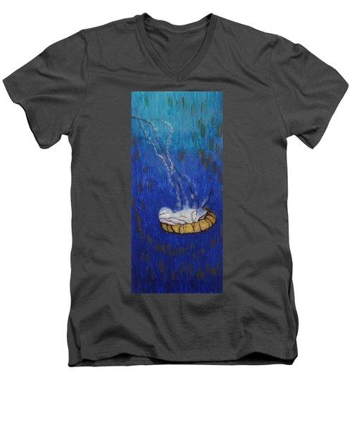 Nettle Jellyfish Men's V-Neck T-Shirt