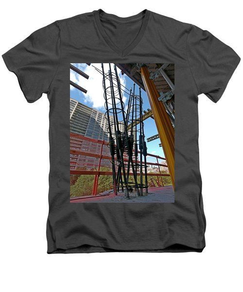 Neuvo Rebar Men's V-Neck T-Shirt