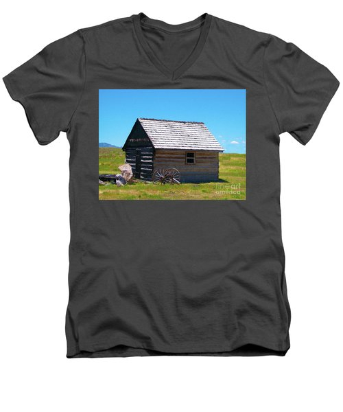 Nevada Homestead Men's V-Neck T-Shirt