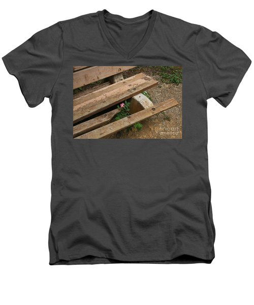 Never Fading Nature Men's V-Neck T-Shirt