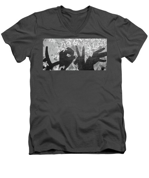 Men's V-Neck T-Shirt featuring the photograph Never Forget by Juergen Weiss