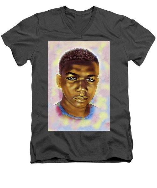 Never Forget Trayvon Men's V-Neck T-Shirt