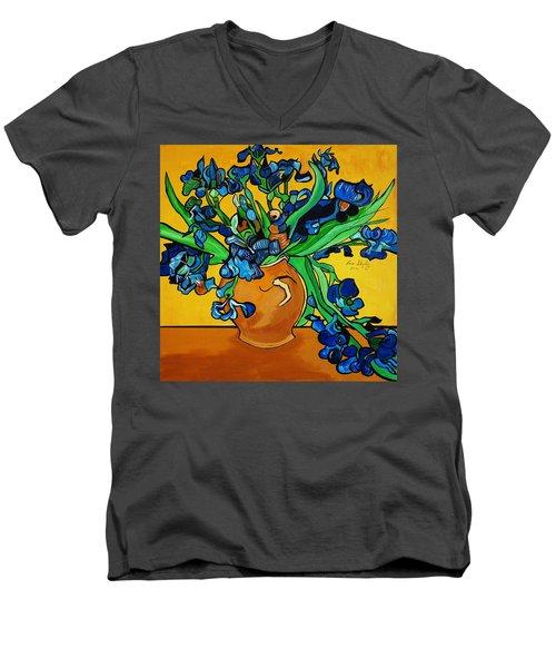 New Blue By You Men's V-Neck T-Shirt
