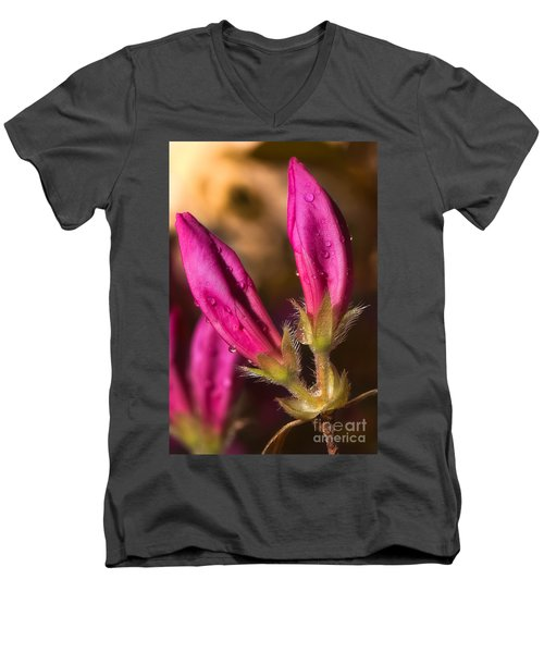 New  Men's V-Neck T-Shirt