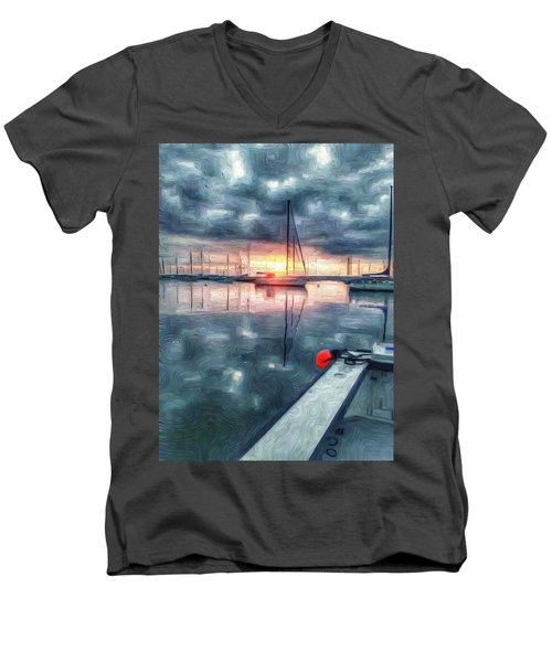 New Dawn Owen Park Men's V-Neck T-Shirt