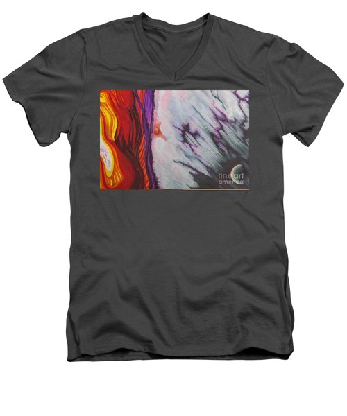 New Earth Men's V-Neck T-Shirt