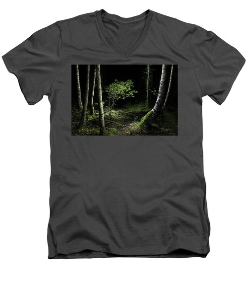 New Growth - Birch Sapling Men's V-Neck T-Shirt