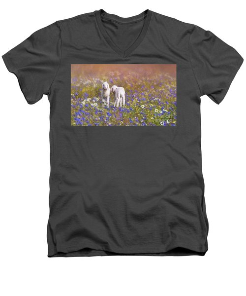 New Life Men's V-Neck T-Shirt