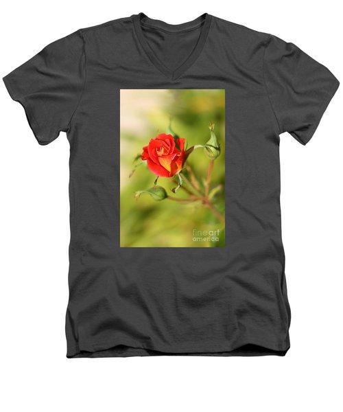 New Love Men's V-Neck T-Shirt
