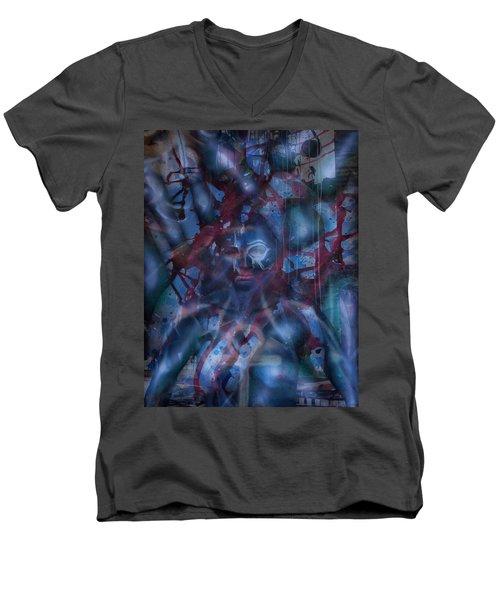 New Metamorphosis Men's V-Neck T-Shirt