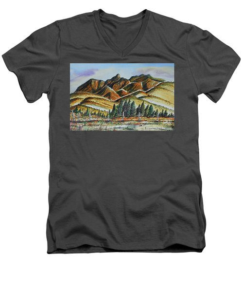 New Mexico Back Country Men's V-Neck T-Shirt