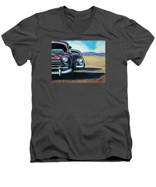New Mexico Junkyard Men's V-Neck T-Shirt