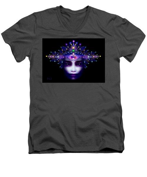Celestial  Beauty Men's V-Neck T-Shirt