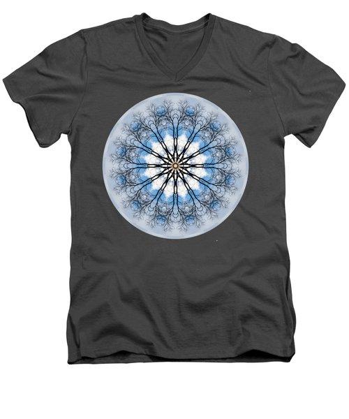 New Year Mandala - Men's V-Neck T-Shirt