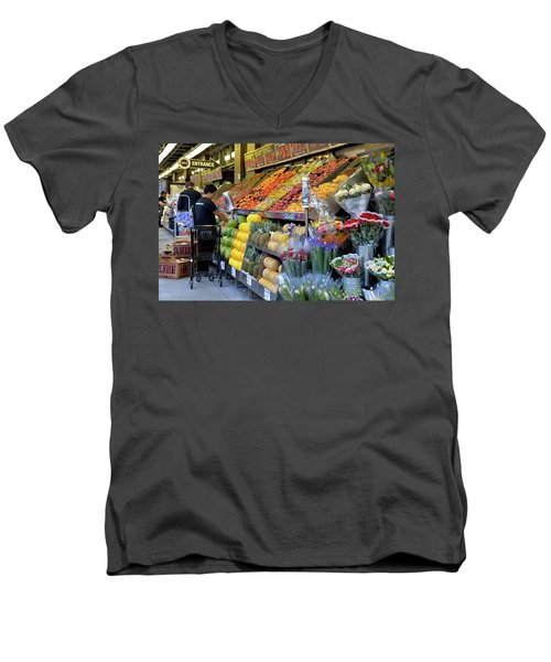 New York, New York 21 Men's V-Neck T-Shirt