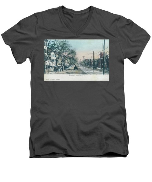 Newburgh Broadway - 04 Men's V-Neck T-Shirt