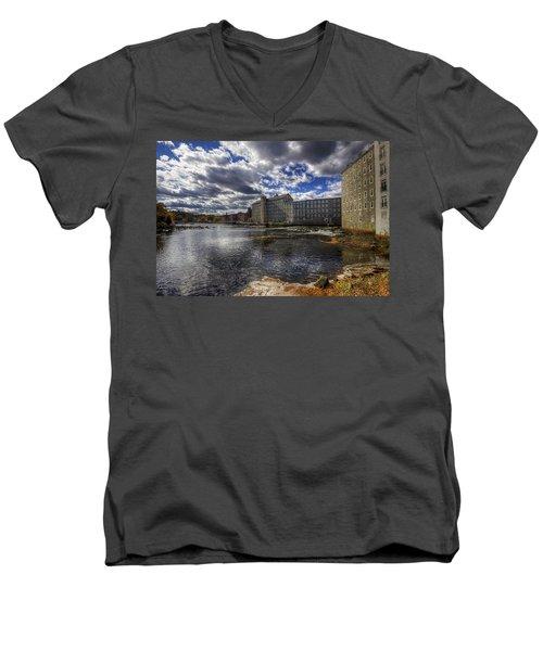 Newmarket Nh Men's V-Neck T-Shirt