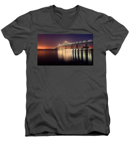 Newport Twilight Men's V-Neck T-Shirt