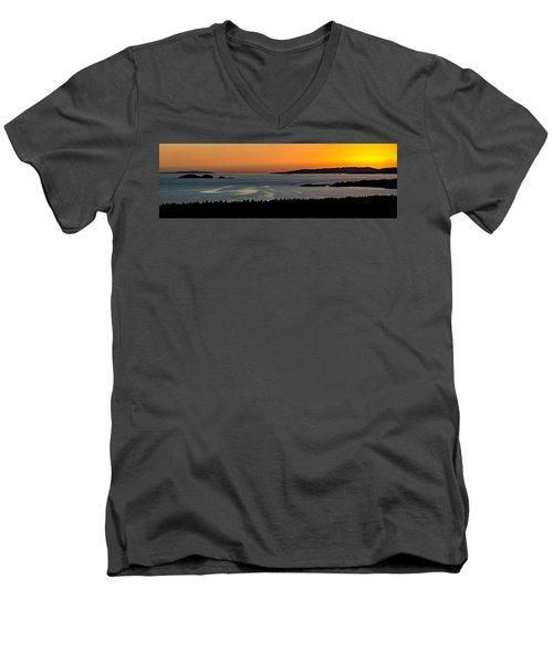 Neys Horizon Men's V-Neck T-Shirt