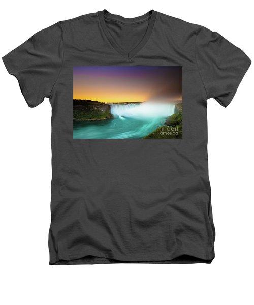 Niagara Falls  Men's V-Neck T-Shirt
