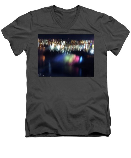 Light Paintings - Ascension Men's V-Neck T-Shirt