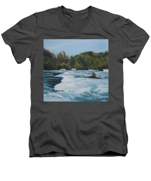 Niagra Rapids Men's V-Neck T-Shirt