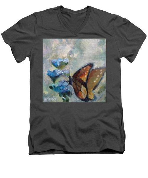 Nibbling Nectar Men's V-Neck T-Shirt
