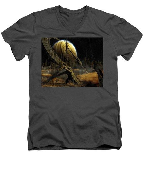 Nibiru Men's V-Neck T-Shirt