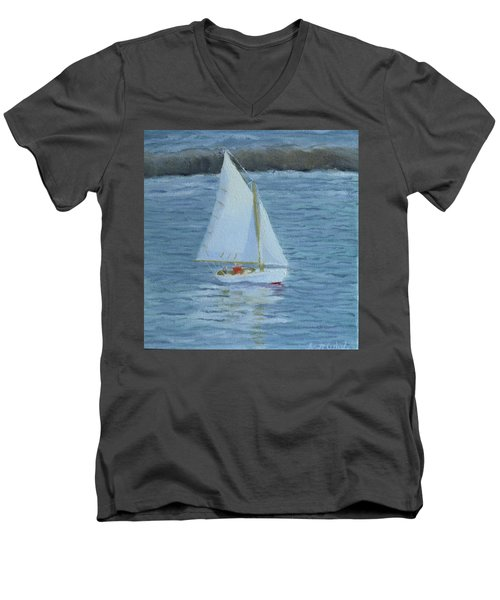 Nice Day For A Sail Men's V-Neck T-Shirt