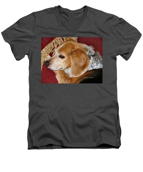 Nice N Comfy Men's V-Neck T-Shirt
