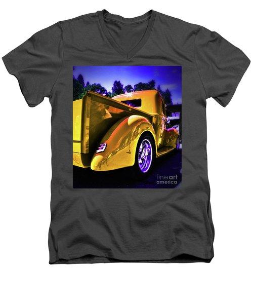 Nice Rear Edited Men's V-Neck T-Shirt
